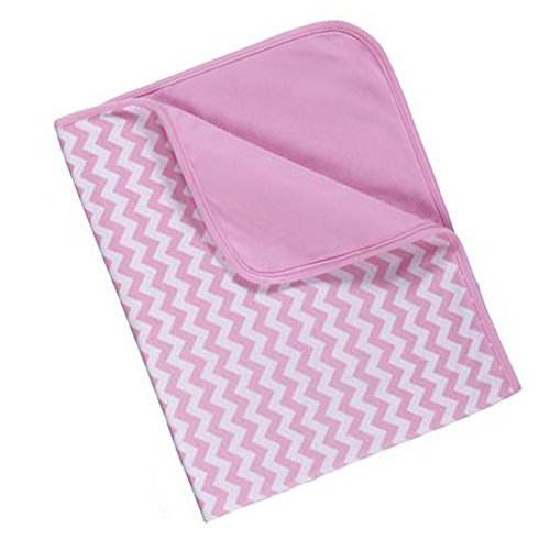"""Chevron Baby Blanket 36"""" By Ganz (Pink)"""