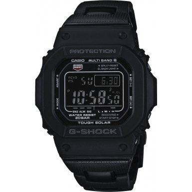 G-Shock Men's Quartz Watch with Black Dial Digital Display and Black Bracelet strap  GW-M5610BC-1ER