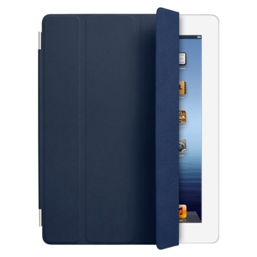 Apple iPad Smart Cover Leather - Navy