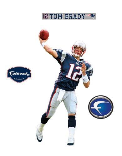 New England Patriots Tom Brady Junior Wall Decal