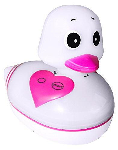 Karcher DR 15 Quietsche-Ente Duschradio, mit Stimmungslicht, weiß