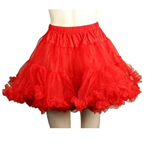 Leg Avenue Petticoat, Red, One Size