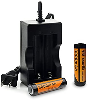ThorFire 2-Pack 3000mAh Batteries & Charger