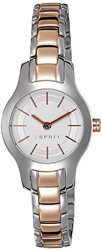 Esprit  ES107082003 - Reloj de cuarzo para mujer, con correa de acero inoxidable, color multicolor
