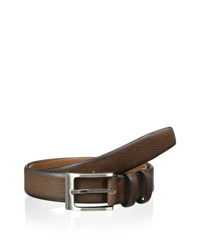 J. Campbell Los Angeles Men's Feather Edge Double Keeper Belt