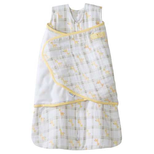 Purchase HALO 100% Cotton Muslin Sleepsack Swaddle, Giraffe Plaid, Small