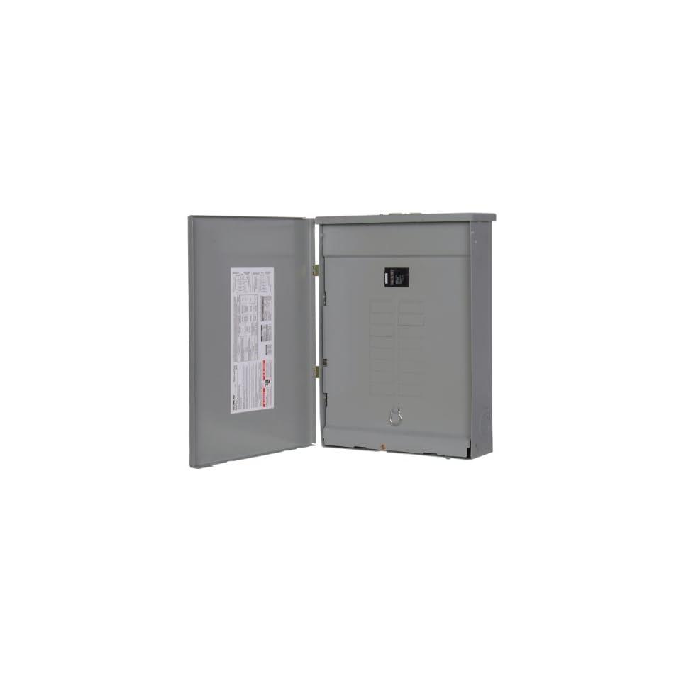 Siemens 16 Space, 24, Circuit, 100 Amp, Main Breaker