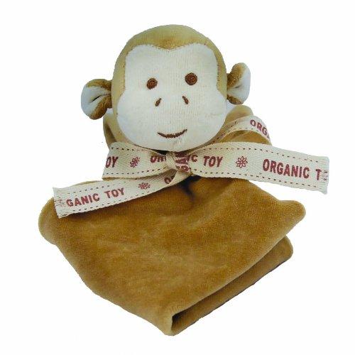 Miyim Simply Organic Lovie Blankie, Monkey, 0-3 Months front-178570