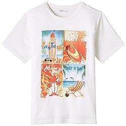 Beebay Beach Party T-Shirt (B0815118202112_White_6Y)