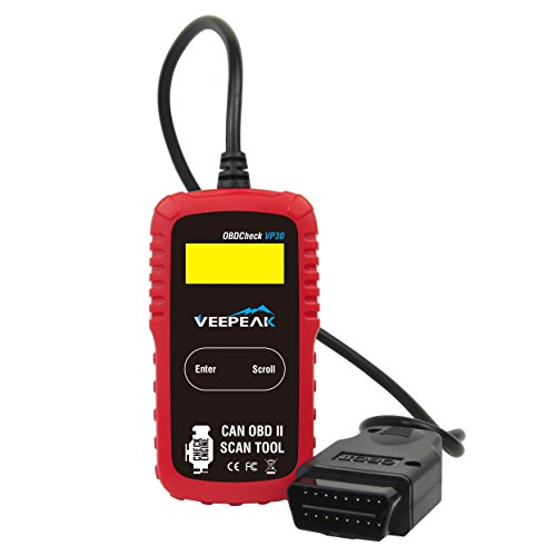 Veepeak OBD2 Scanner Automotive Diagnostic Scan Tool Code Reader for Check Engine Light, Read & Clear Trouble Codes for OBD II Compliant Vehicles (Ford Obd2 Scanner compare prices)
