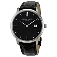 Frederique Constant Men's FC306G4S6 Slim Line Slim Line Mens Black Dial Automatic Watch Watch by Frederique Constant