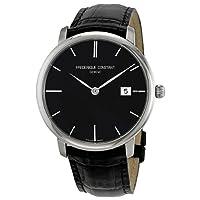 Frederique Constant Men's FC306G4S6 Slim Line Slim Line Mens Black Dial Automatic Watch Watch by Frederique Constant