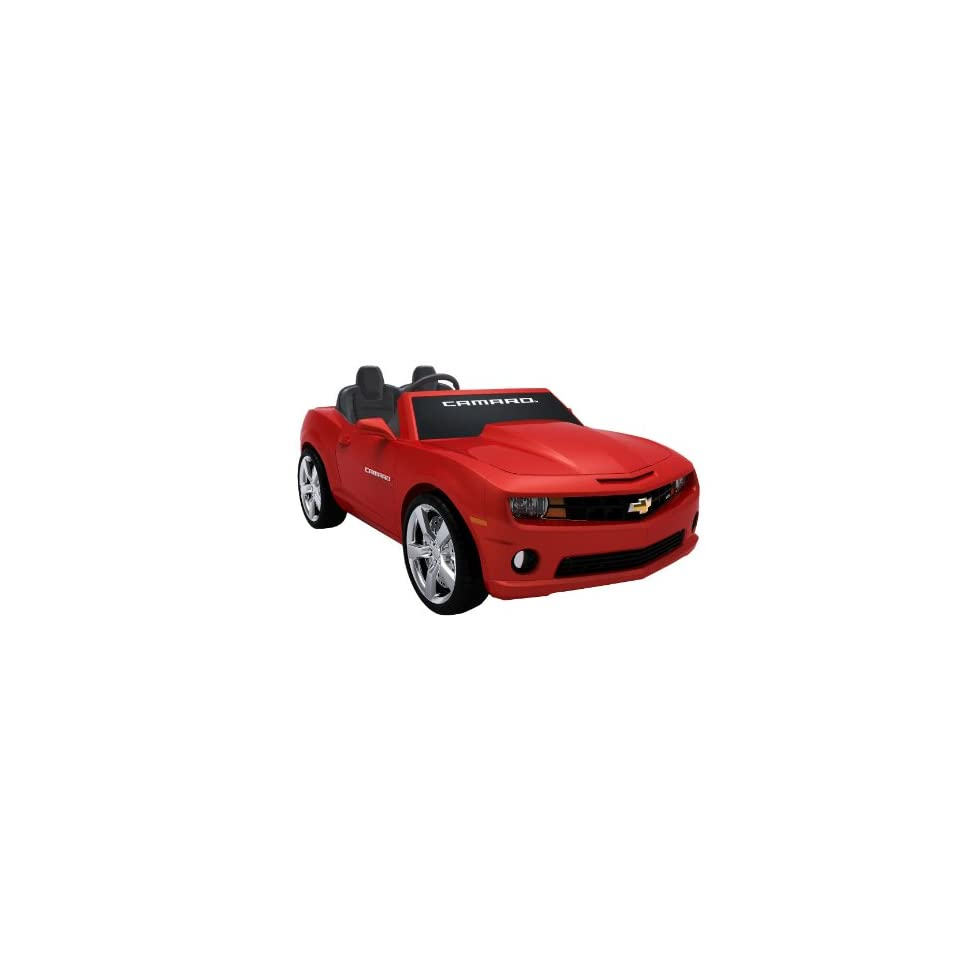 National Products 12 Chevrolet Camaro Ride on (Red) Toys & Games