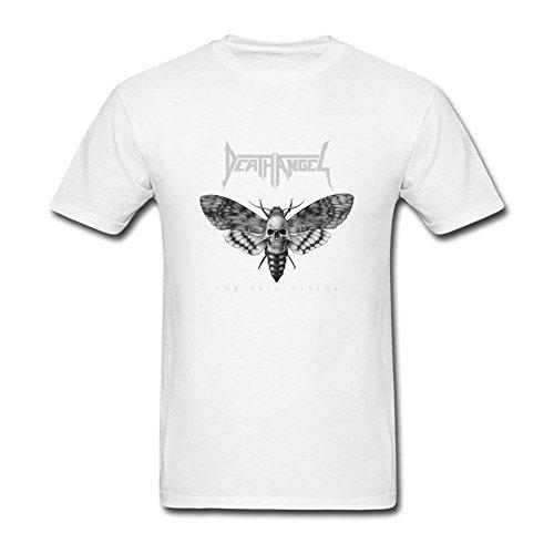 h4b7h8T Shirt The Evil Divide Death Angel per uomo White Medium