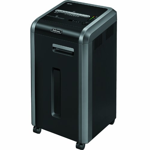 Fellowes Powershred 225Ci 100% Jam Proof 20-Sheet Cross-Cut Paper Shredder (3825001)