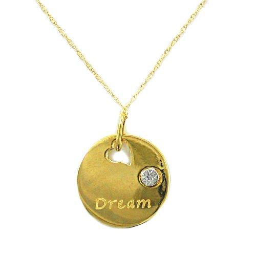 10k Yellow Gold Diamond-Accent