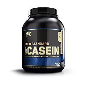 Optimum Nutrition 100% Casein Protein, Chocolate Supreme, 4 Pound
