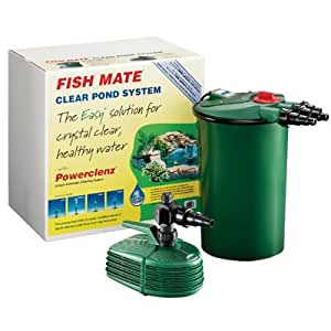Fish mate pressurized pond filter system kits for Fish pond filter accessories
