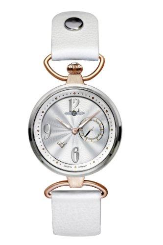 Zeppelin - 7439-1 - Montre Femme - Quartz - Analogique - Bracelet cuir Blanc