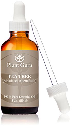 Tea Tree (Melaleuca) Essential Oil. 59 ml. (2 oz.) 100% Pure, Undiluted, Therapeutic Grade. With Glass Dropper