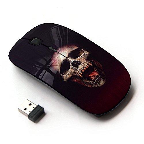 KOOLmouse [ Mouse Senza Fili Ottico 2.4G ] [ Vampire Blood Skull ]