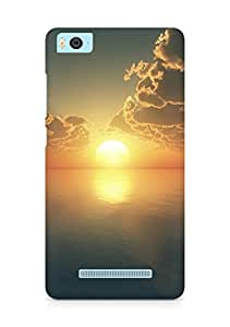 Amez designer printed 3d premium high quality back case cover for Xiaomi Mi5 (Sunset)