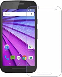 Moto G 3rd Gen Tempered Glass by DRaX
