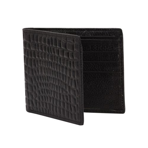 Khoobsurati Zovon Unique Patterned Black Wallet