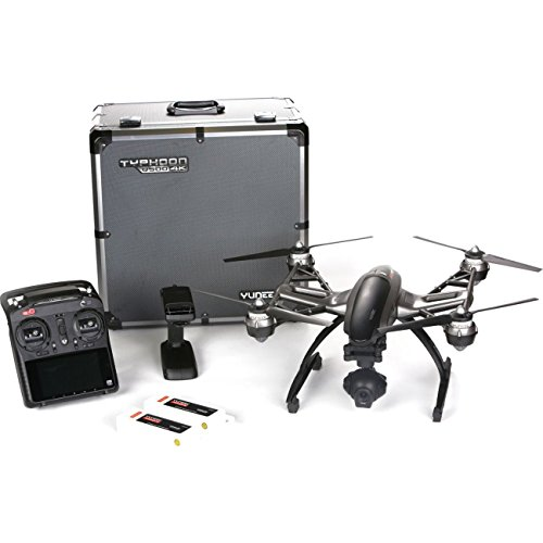 Yuneec-Q500-4K-Typhoon-Quadcopter-Drone-RTF-Aluminum-Case-with-CGO3-CameraST10-Steady-Grip