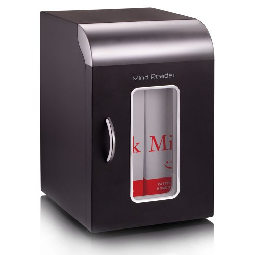 "Find Discount Mind Reader"" Cube"" Mini Coffee Station Refrigerator, Black"