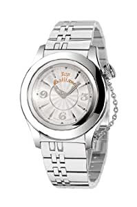 John Galliano Ladies Watch R1553102615 In Collection Elu, 2 H and S, Silver Dial and Stainless Steel Bracelet