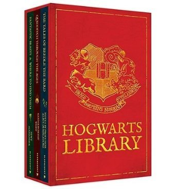 [(The Hogwarts Library Boxed Set Including Fantastic Beasts & Where to Find Them)] [ By (author) J. K. Rowling ] [November, 2012]
