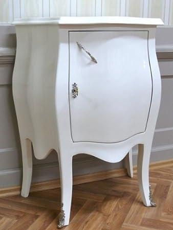 Barroco cómoda blanco brillante estilo envejecido Vintage AlKm1021SbWe