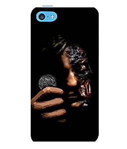 printtech Two Face Gotham Back Case Cover for Apple iPhone 5C