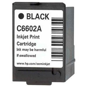HEWC6602A - Ink Jet Toner Cartridge for HP (C6602A compat) Generic Black