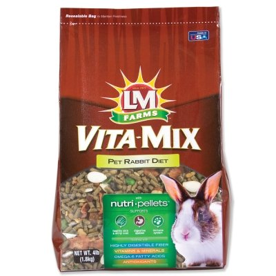 Brand New LM ANIMAL FARMS - VITA-MIX PET RABBIT (4 LB)