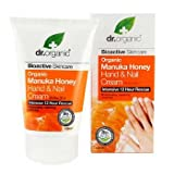 Dr. Organic Natural Organic Manuka Honey Intensive 12 Hours Rescue Hand and Nail Cream 125ml