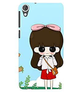 A cartoon character Designer Back Case Cover for HTC Desire 820 - B1294