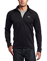Outdoor Research Men\'s Radiant Hybrid Pullover (Black, Large)
