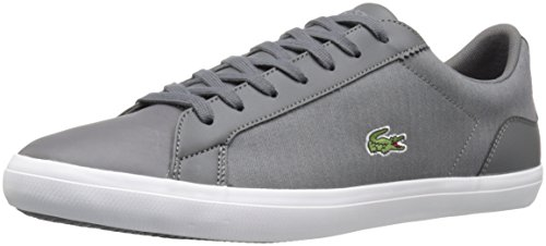 Lacoste Men's Lerond 316 1 Spm Fashion Sneaker, Dark Grey, 11 M US