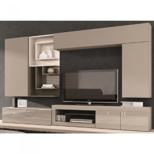 meuble tv taupe pas cher. Black Bedroom Furniture Sets. Home Design Ideas