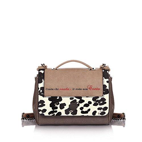 """Tracolla Le Pandorine Mini Bag """"Conta"""" AI16DAC01932-01 bianco"""
