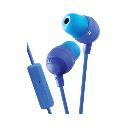 Jvc Hafr37A Marshmallow Inner-Ear Earbuds With Microphone & Remote (Blue) (Jvc Hafr37A)