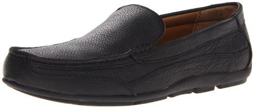 Sebago Men'S Captain Shoe,Black Pebbled,9.5 M Us front-436917
