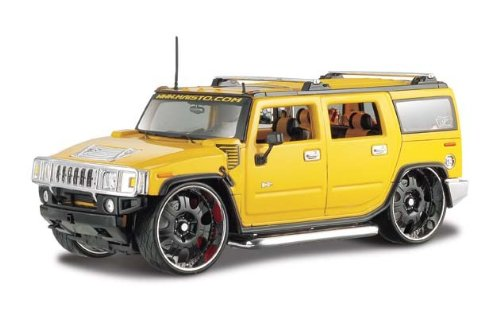2003 Hummer H2 SUV 1/27 Yellow - 1