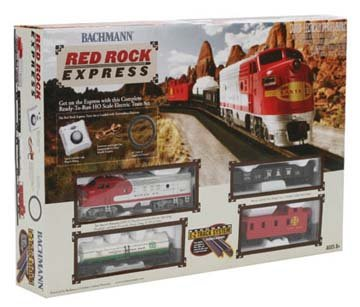 HO Red Rock Express Train Set, SF