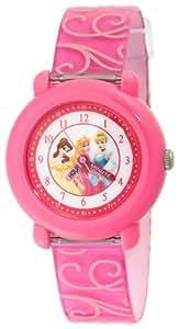 Disney Kids' PN1005 Princess Time Teacher Pink Strap Watch