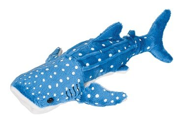 Whale Shark Pounce Pal Plush Stuffed Animal - 1