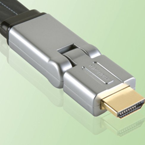 Profigold 2m Swivel High Speed HDMI Cable with 99.996 Percent OFC Copper and 24K Hard Gold Connectors