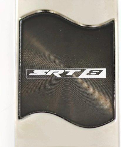 dodge-challenger-mangum-chargeur-srt-8-plats-rectangulaires-noir-porte-cles-avec-logo-authentic-port